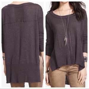 Free People Lace Road Knit Sweater